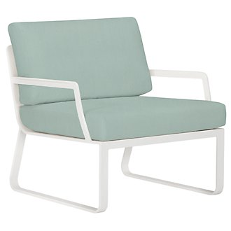 Ibiza Teal Chair