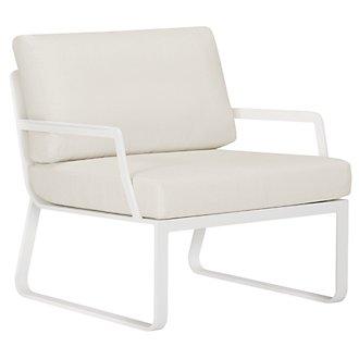 Ibiza White Chair