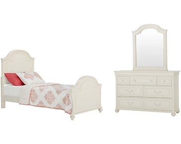 Charlotte Ivory Panel Bedroom