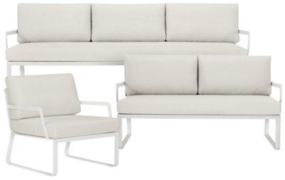 Etonnant Ibiza White Outdoor Living Room Set