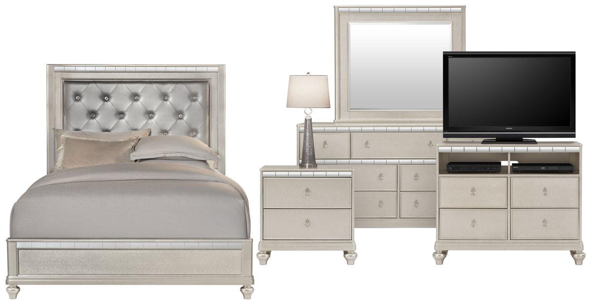 city furniture belle silver media chest belle silver media chest