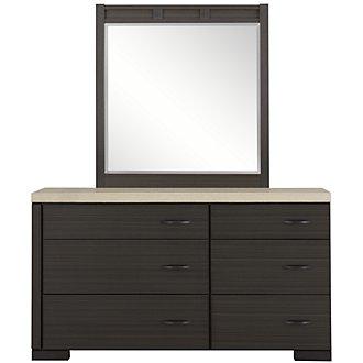 Motivo Gray Dresser & Mirror