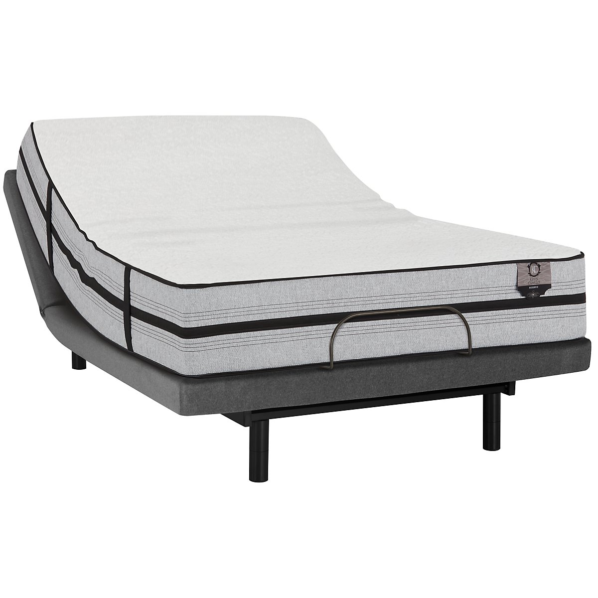 Kevin Charles Placid Plush Hybrid Deluxe Adjustable Mattress Set