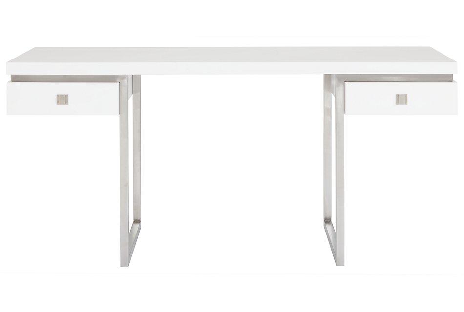 Parker White  Desk