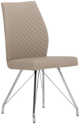 Lima Taupe Upholstered Side Chair