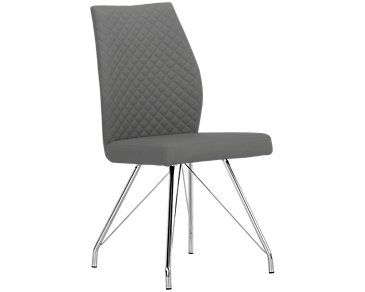 Lima Gray Upholstered Side Chair