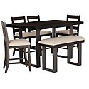Sawyer Dark Tone High Dining Table