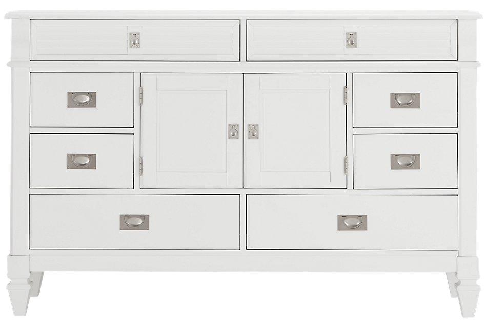 Marina White Dresser | Bedroom - Dressers | City Furniture