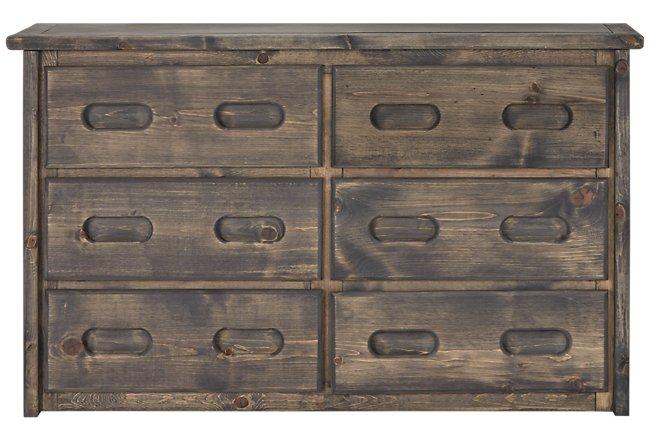 Cinnamon Gray Dresser