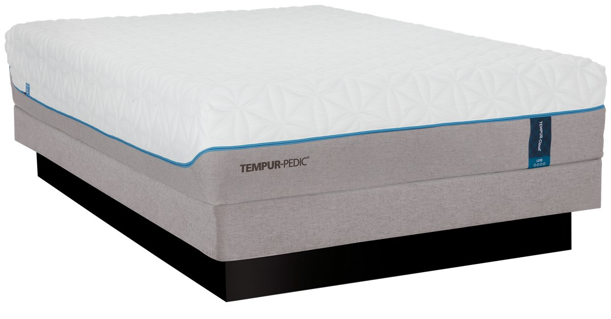 TEMPUR-Cloud® Luxe Low-Profile Tempur® Mattress Set