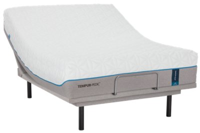 tempurcloud luxe tempurergo plus adjustable mattress set