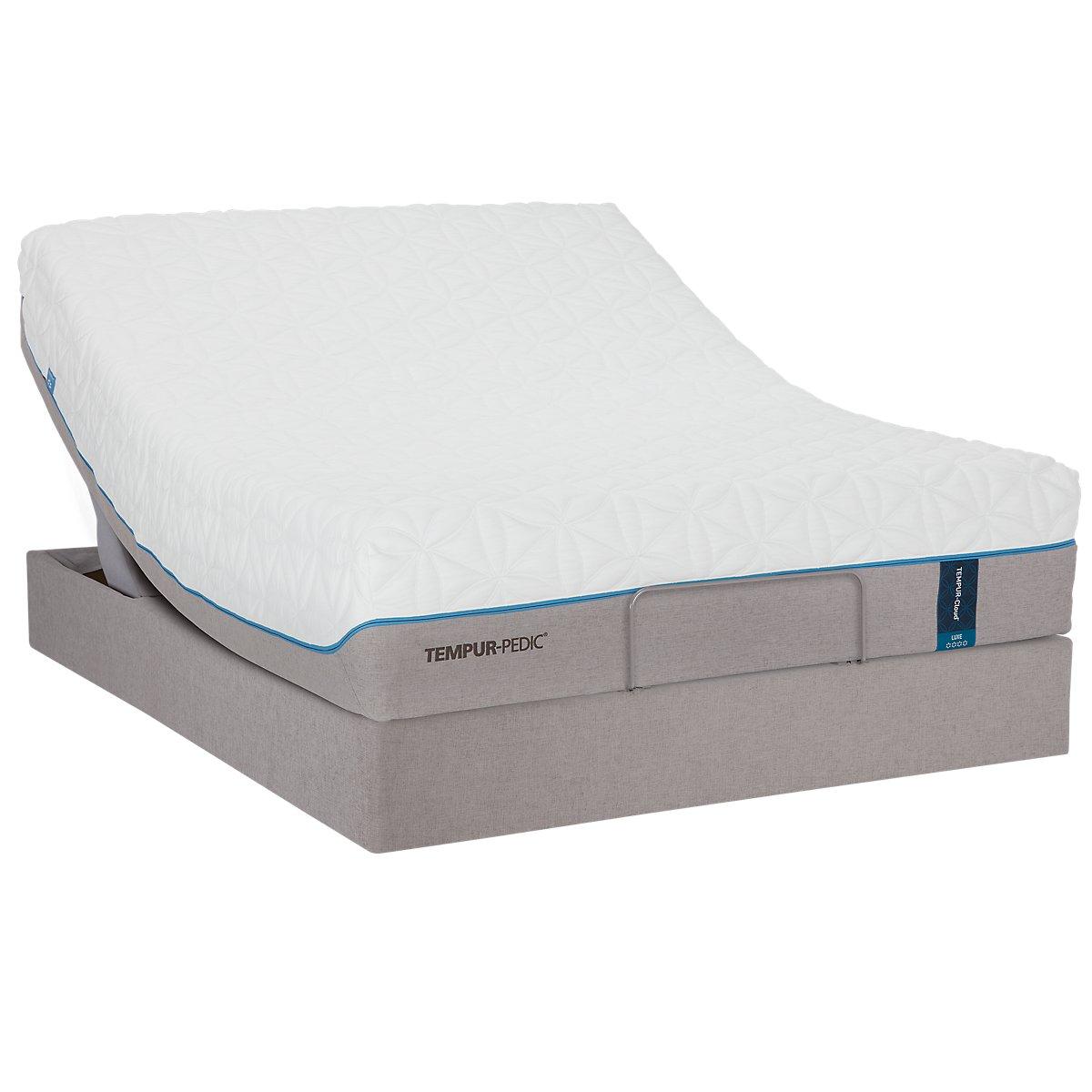 Adjustable Beds With Financing : City furniture tempur cloud? luxe premier adjustable