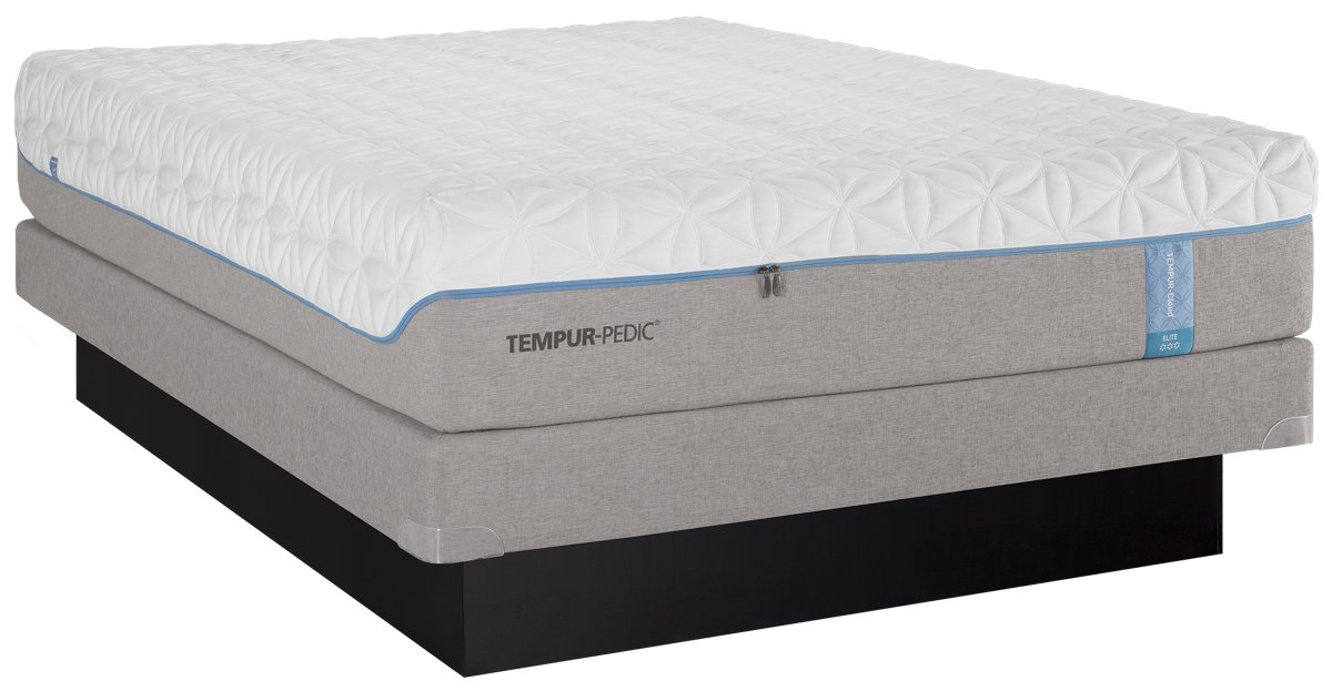 TEMPUR-Cloud® Elite Tempur® Low-Profile Mattress Set