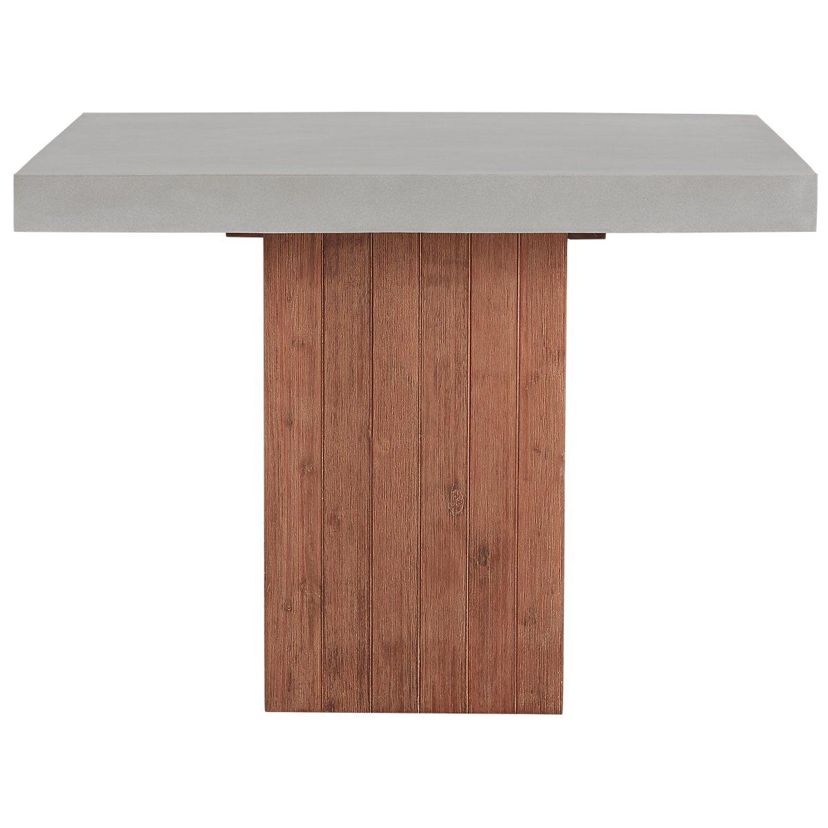 Square table furniture - Sydney Concrete Square Table
