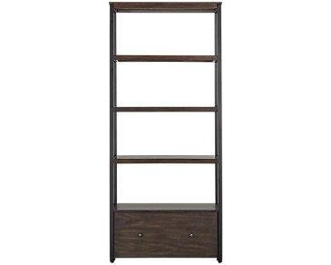 Blaine Dark Tone Bookcase