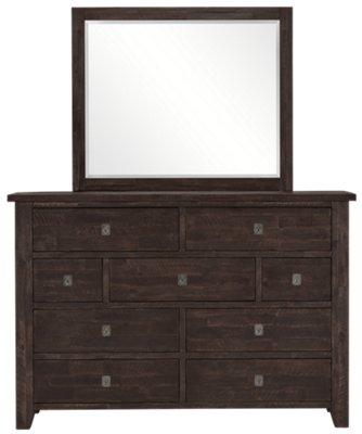 Exceptionnel Kona Grove Dark Tone Dresser U0026 Mirror