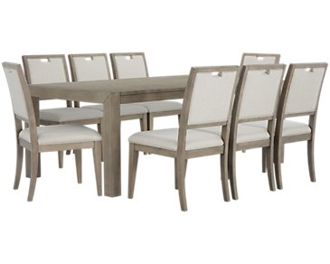 Gramercy Light Tone Rectangular Table & 4 Chairs