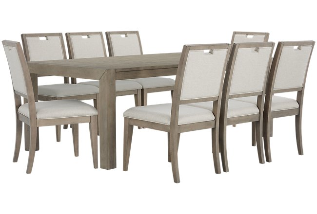 Gramercy Light Tone Table & 4 Chairs