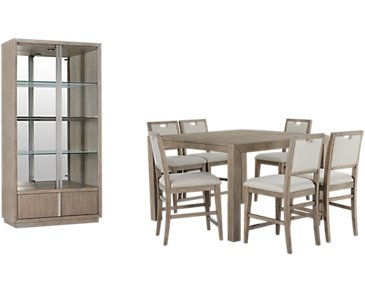 Gramercy Light Tone High Dining Room