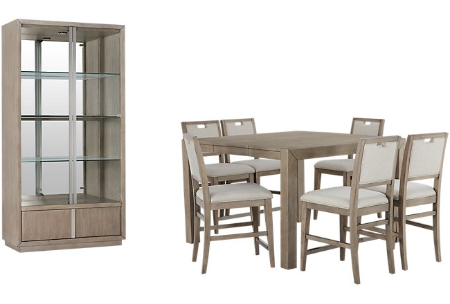 Gramercy Light Tone Dining Room