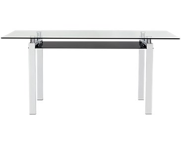 "Caleb Glass 60"" Rectangular Table"