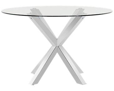 Heath Glass Round Table