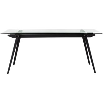 Miles Glass Rectangular Table