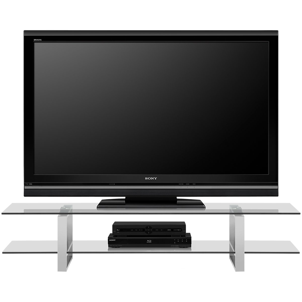 katrina glass tv stand entertainment centers city furniture. Black Bedroom Furniture Sets. Home Design Ideas