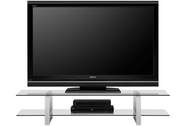 Katrina Glass TV Stand
