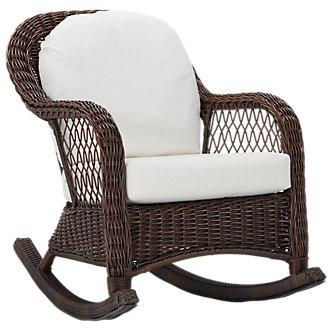 Cape White Rocking Chair