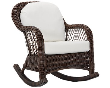 Cape White Rocking Chair