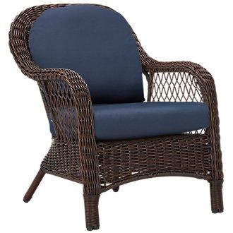 Cape Dark Blue Chair