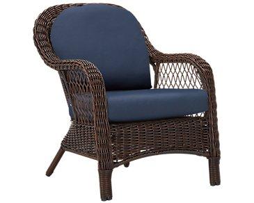 Cape Dark Blue Arm Chair