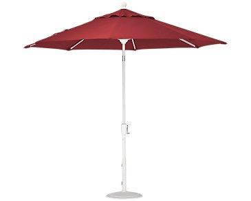 Capri Red Umbrella Set