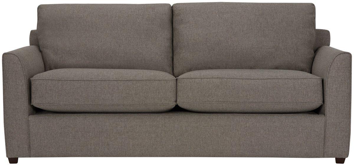 City Furniture Asheville Brown Fabric Memory Foam Sleeper