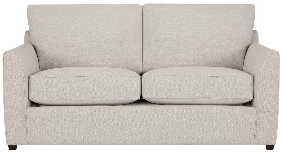 City Furniture Asheville Light Taupe Fabric Memory Foam