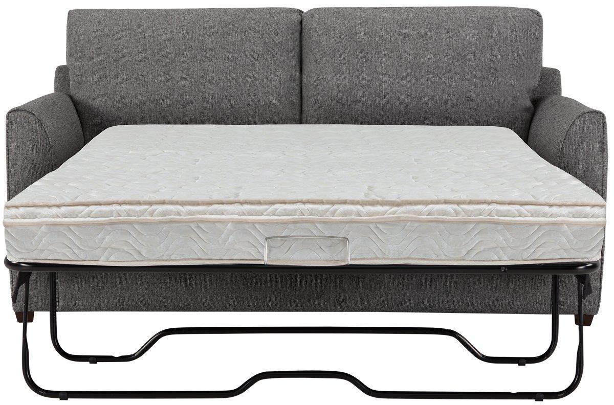 City Furniture Asheville Gray Fabric Innerspring Sleeper