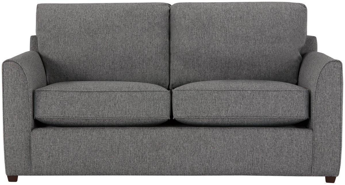 City Furniture Asheville Gray Fabric Memory Foam Sleeper