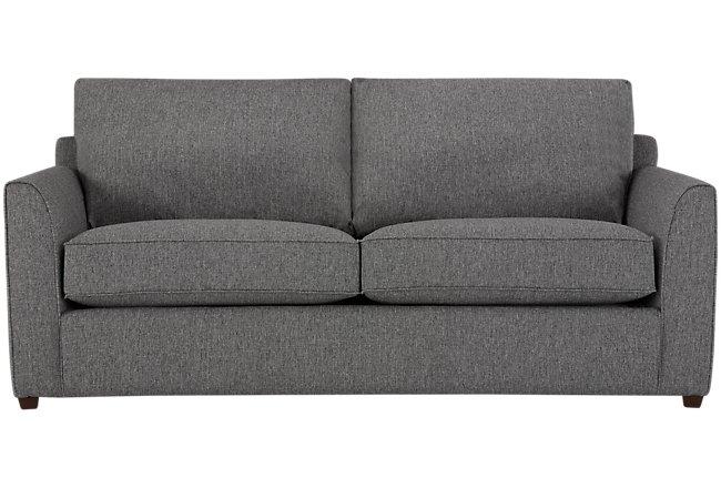 Asheville Gray Fabric Memory Foam Sleeper