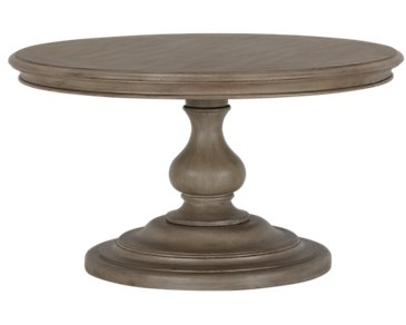 Corinne Light Tone Round Coffee Table