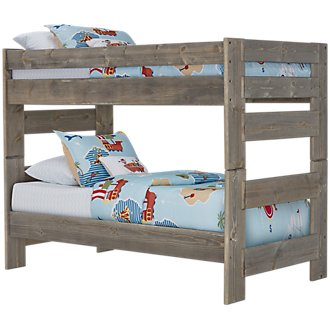 Cinnamon Gray Bunk Bed