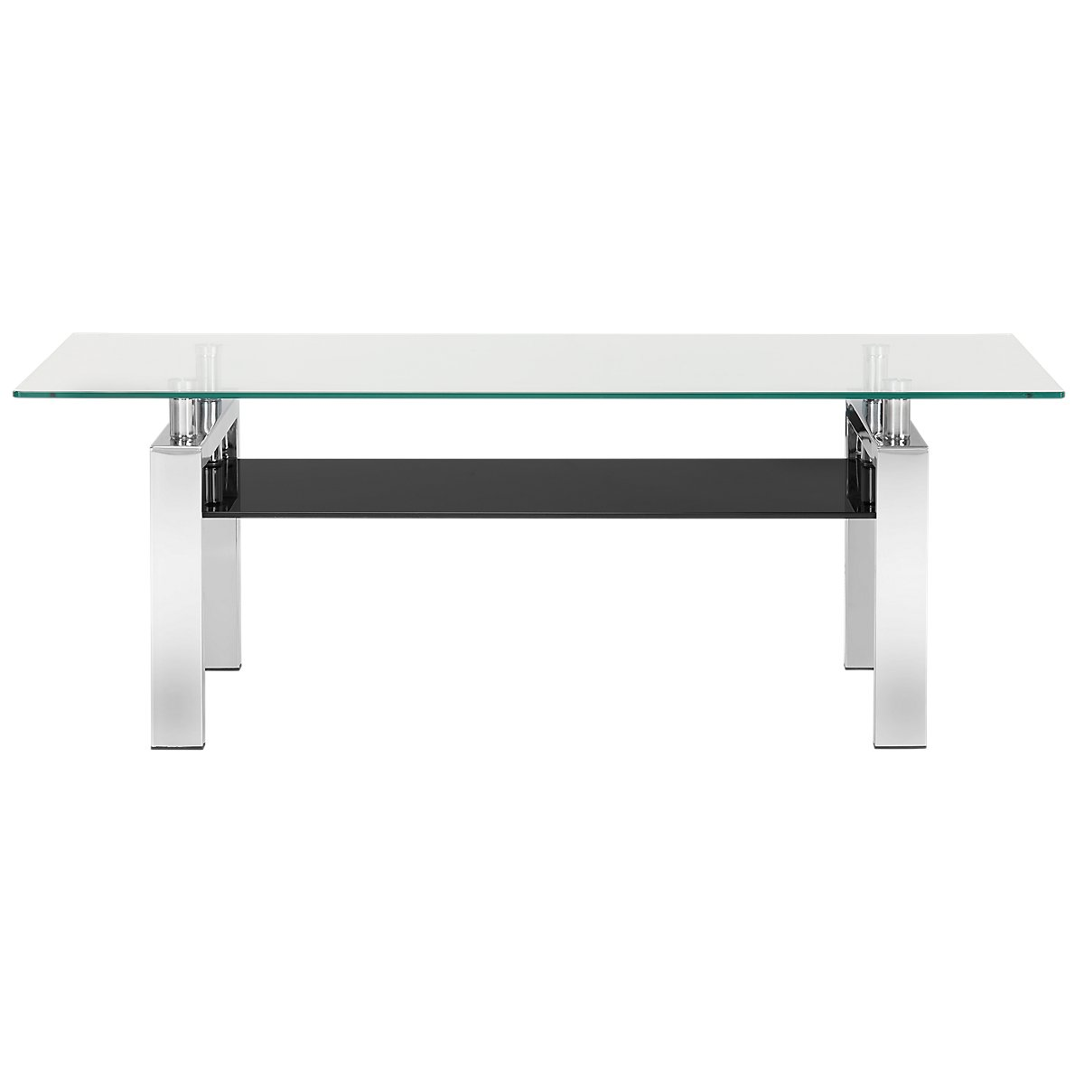 Caleb Glass Rectangular Coffee Table