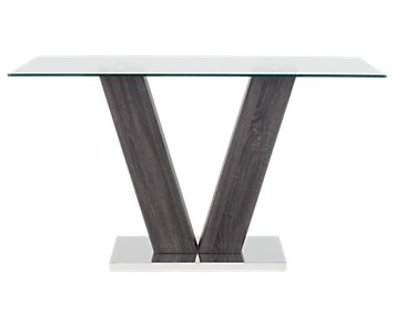 Kendall Glass High Dining Table