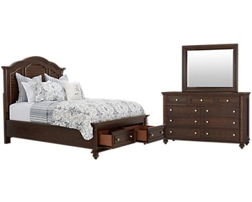 Savannah Dark Tone Mansion Storage Bedroom