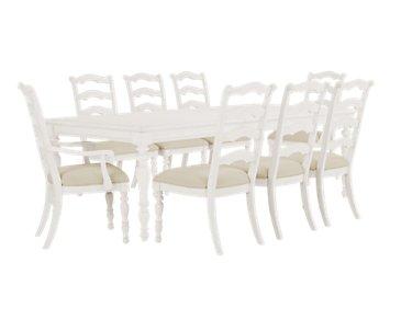 Savannah Ivory Rectangular Table & 4 Chairs