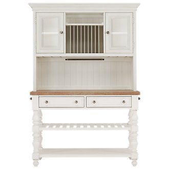 Savannah Ivory China Cabinet