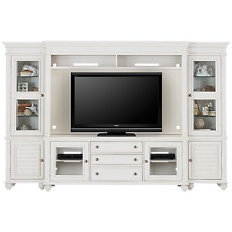 Savannah Ivory Entertainment Wall