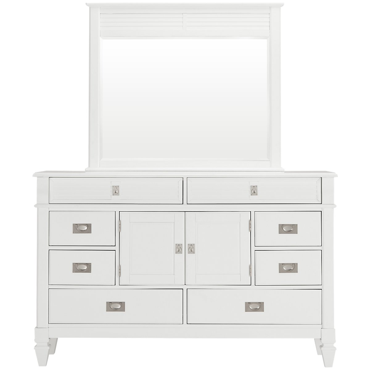 City Furniture Marina White Dresser Mirror