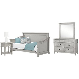 Stoney Gray Daybed Bedroom
