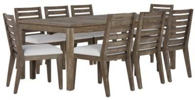 Bravo Dark Tone Rectangular Table u0026 4